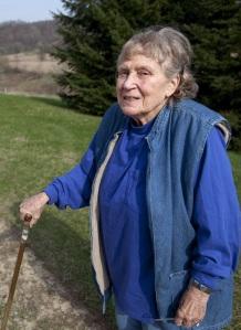 Sztálin lánya, Szvetlana Allijujeva (1926-2011) Wisconsin államban 2010. április 13-án