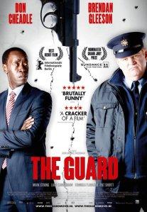 A Guardista (The Guard) című ír film plakátja