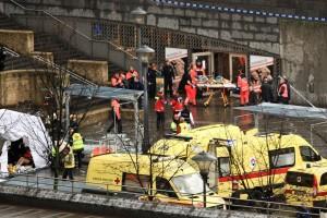 A kézigránátos merénylet helyszíne a belgiumi Liege városban