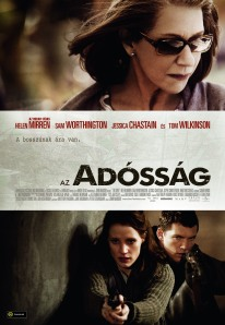 Az adósság (The Debt) című film magyar nyelvű plakátja