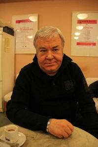 Gálvölgyi János Kossuth-díjas magyar színész a Játékszínben, 2011 november (Fotó: Mészáros Márton)