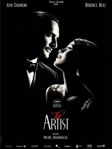 The Artist - A némafilmes című francia film plakátja