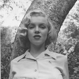 Ed Clark amerikai fotós Los Angeles-i Griffith Parkban 1950-ben készült felvételei Marilyn Monroe amerikai színésznőről (1926-1962)