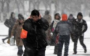 Mínusz 50 fokos hideg Kínában