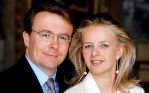 Johan Friso holland királyi herceg és neje, Mabel hercegé