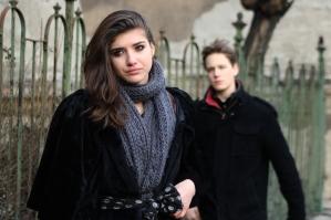 Szigethy Hanna és Puskás Samu az Emberség című film egyik jelenetében (Fotó: Szilasi Katalin)