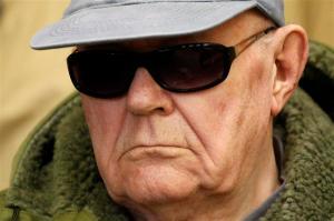 John Demjanjuk ukrán születésű náci háborús bűnös (1920-2012)