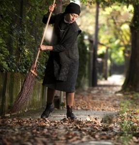 Helen Mirren brit színésznő Szabó István Az ajtó című filmjének egyik jelenetében