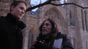 Puskás Samu és Bicskey Lukács az Emberség című film egyik jelenetében (Forrás: Mészáros Márton)