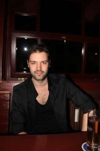 Andorai Péter énekes Budapesten 2012. április 26-án (Fotó: Mészáros Márton)