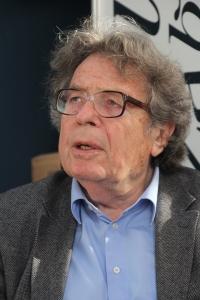Konrád György Kossuth-díjas íróa  XIX. Budapesti Nemzetközi Könyvfesztiválon a Millenárison 2012. április 20-án