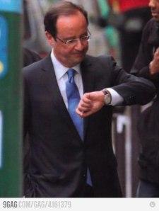 Francois Hollande, a francia ellenzéki Szocialista Párt vezetője, frissen megválasztott francia elnök