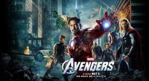 A Bosszúállók (The Avengers) című film angolnyelvű plakátja
