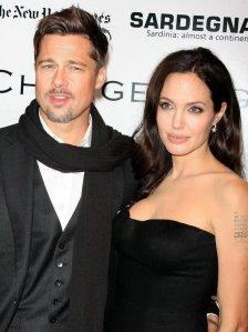 Brad Pitt és Angelina Jolie amerikai színészek