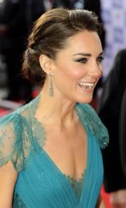 Katalin Cambridge-i hercegnő a 2012-es londoni olimpiai játékok megnyitóján 2012.július 27-én