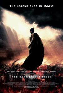 A sötét lovag: Felemelkedés (The Dark Knight Rises) című film plakátja
