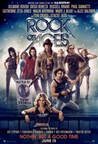 Mindörökké rock (Rock of Ages) című film plaktája