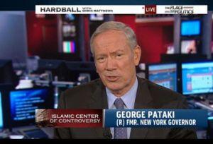 George Pataki, New York állam magyar származású egykori kormányzója