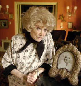 Phyllis Diller amerikai komikus, színésznő (1917-2012) - A felvétel 2005-ben készült -