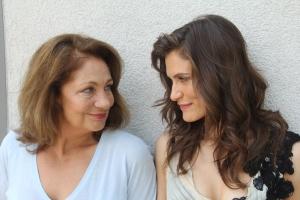 Bordán Irén színésznő és lánya, Bordán Lili színésznő Budapesten 2012. július 29-én (Fotó: Mészáros Márton)