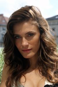 Bordán Lili hollywoodi magyar színésznő Budapesten 2012. július 29-én (Fotó: Mészáros Márton)