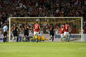 A Magyarország-Hollandia labdarúgó világbajnoki selejtező a Puskás Ferenc Stadionban 2012. szeptember 11-én
