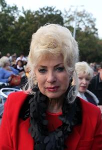 Medveczky Ilona világhírű magyar táncosnő Budapesten 2012. szeptember 16-án (Fotó: Mészáros Márton)
