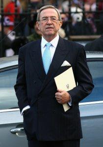 II. Konstantin trónfosztott görög király Londonban 2007. november 19-én