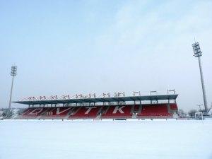 A hófödte DVTK-stadion, Diósgyőr
