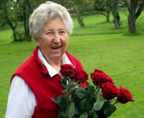 Liselotte Orff (1930-2012), a világhírű német zeneszerző, Carl Orff özvegye