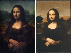 Az eredeti Mona Lisa és az isleworthi Mona Lisa