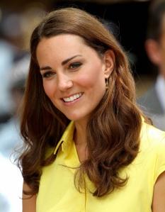 Katalin cambridge-i hercegnő, a brit trónörökös fiának neje a Salamon-szigetek fővárosában, Honiarában 2012. szeptember 17-én