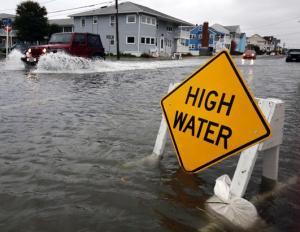 Elérte az Egyesült Államokat a Sandy hurrikán