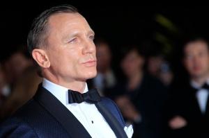 Daniel Craig az Égszakadás (Skyfall) című James Bond-film bemutatóján Londonban 2012.október 23-án