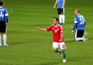 A 2014-es labdarúgó-világbajnokság európai selejtezőinek D csoportjában játszott Észtország-Magyarország mérkőzés Tallinnban 2012. október 12-én