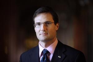 Gyöngyösi Márton politikus, a Jobbik frakcióvezető-helyettese