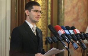 Novák Előd, a Jobbik alelnöke