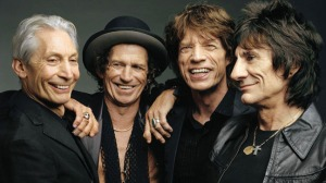 Charlie Watts, Ronnie Wood, Mick Jagger, Keith Richards, a Rolling Stones tagjai