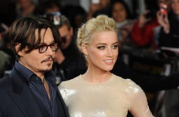 Johnny Depp és Amber Heard amerikai színészek
