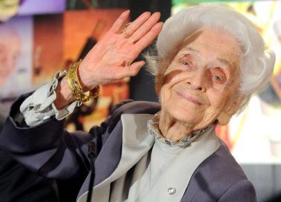 Rita Levi-Montalcini olasz neurológus (1909-2012)