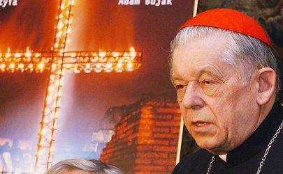 Józef Glemp lengyel bíboros, varsói érsek, prímás (1929-2013)