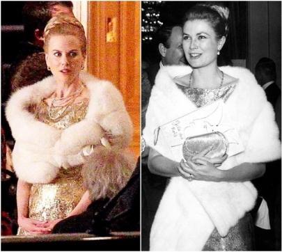 Nicole Kidman ausztrál színésznő és Grace Kelly amerikai színésznő, monacói hercegnő