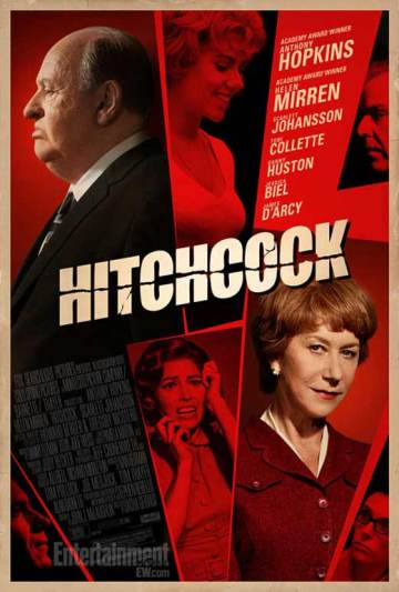 Sacha Gervasi Hitchcock című filmjének plakátja
