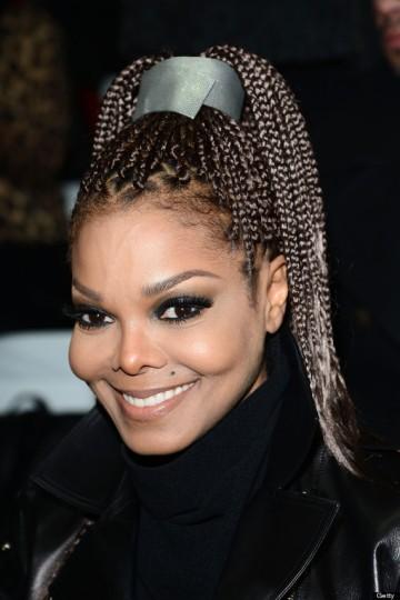 Janet Jackson amerikai énekesnő Milánóban 2013 tavaszán