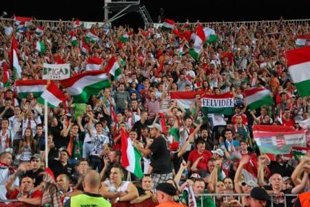 Most nem volt szurkolótábor, zárt kapuk mellett játszották a Magyarország-Románia labdarúgó világbajnoki selejtezőt