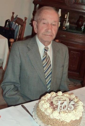 Bula Mihály, Magyarország egyik legidősebb férfija (1905-2013)