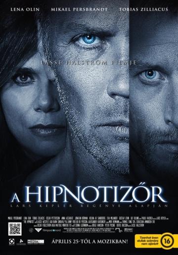 Lasse Hallström A hipnotizőr című filmjének magyar nyelvű plakátja
