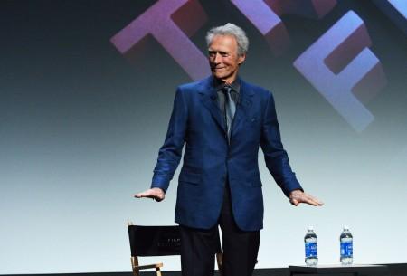 Clint Eastwood Oscar-díjas amerikai színész-rendező a Tribeca Filmfesztiválon New Yorkban 2013. április 27-én