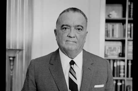 J. Edgar Hoover (1895-1972) , az FBI alapító-vezetője