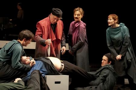 A velencei kalmár a Nemzeti Színház színpadán
